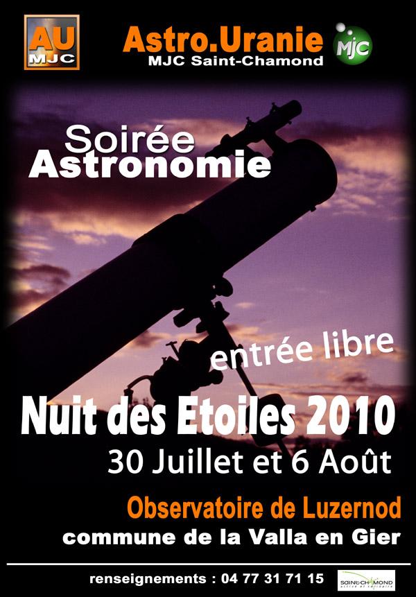Nuits des Etoiles 2010
