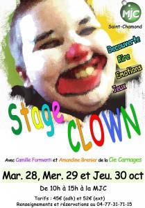affiche clown 14